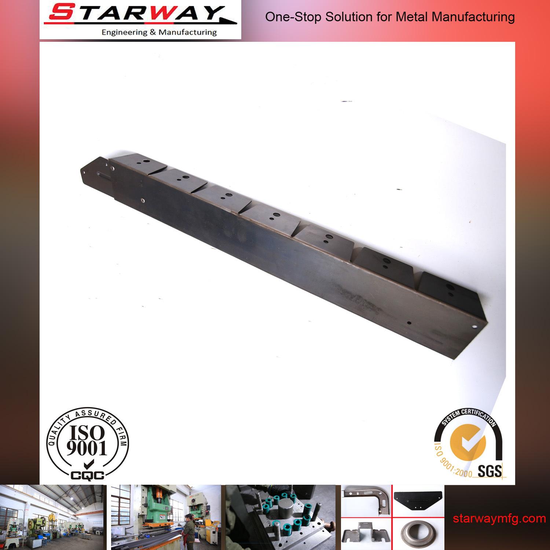 OEM CNC Drawing Steel Metal Stamping with Blac Plating