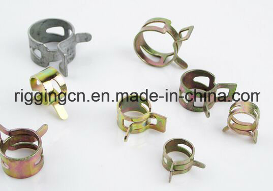 Fuel Line Hose Spring Clip Water Pipe Air Tube Clamps for Cars