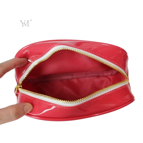 OEM Latest Custom Promotional Leather Cosmetic Makeup Lady Clutch Bag