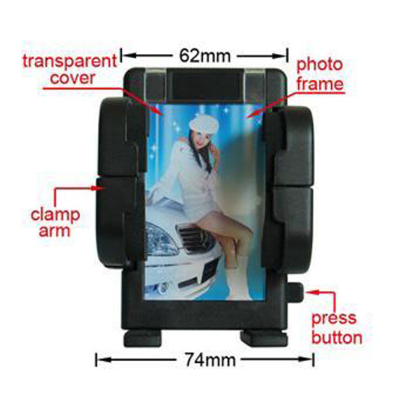 Car CD Slot Holder Mounts for Mobile & GPS Meet RoHS Standard