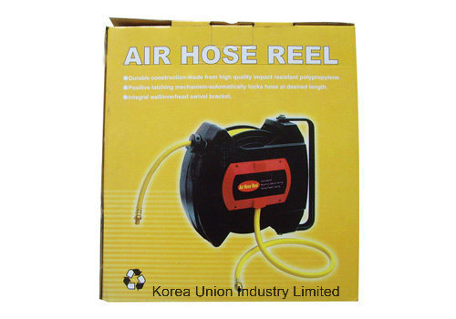 "Retractable 1/4"" Plastic PVC Hose Reel (UI-101)"