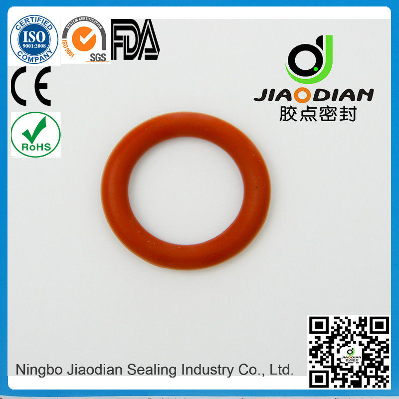 NBR Red O Rings of Size Range as 568, JIS2401 on Short Lead Time with SGS CE RoHS FDA Cetified (O-RINGS-0084)