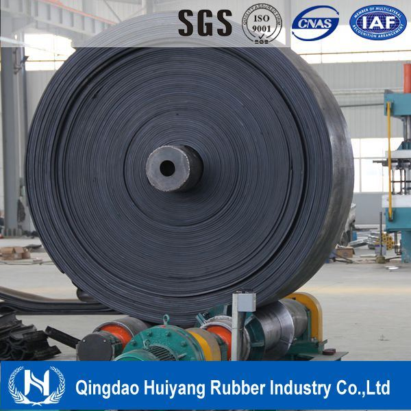 Cement Industry DIN22102 Palyester Ep400 Fabric Rubber Conveyor Belt