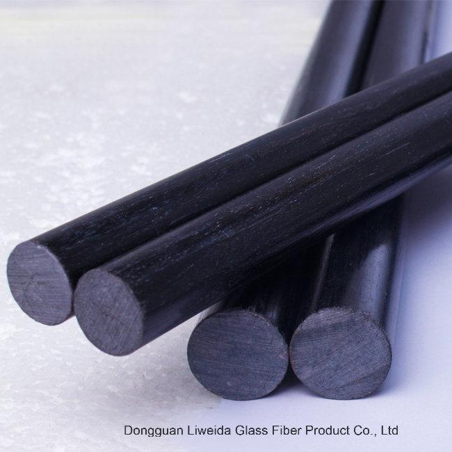 Corrosion Resistant Soild Carbon Fiber Rod, Carbon Fiber Bar