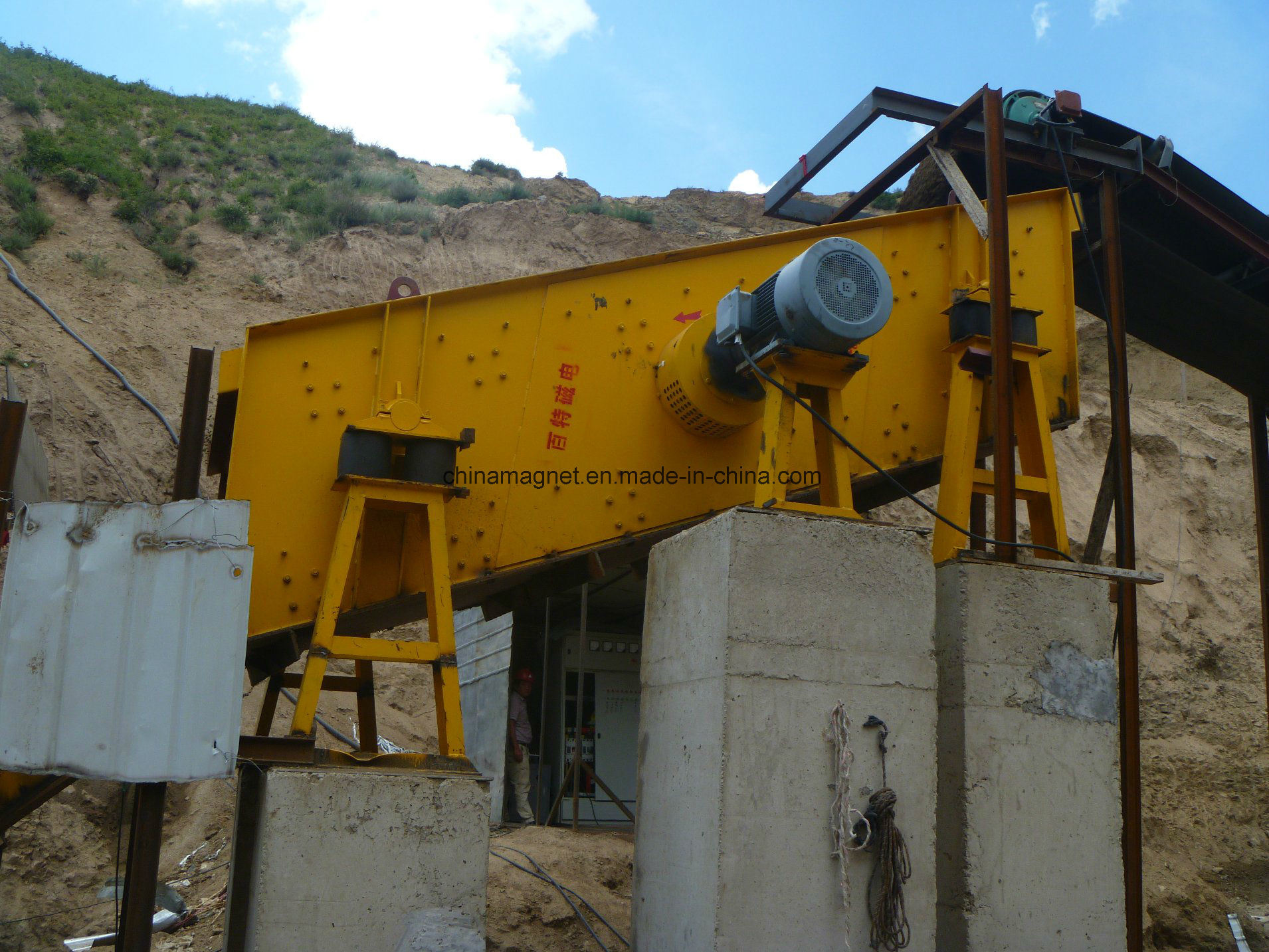 Yk Series Circular Vibrating Screen for Mining/Gold Mining Equipment