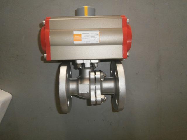 Pneumatic Actuator - Three Position Actuator Optional
