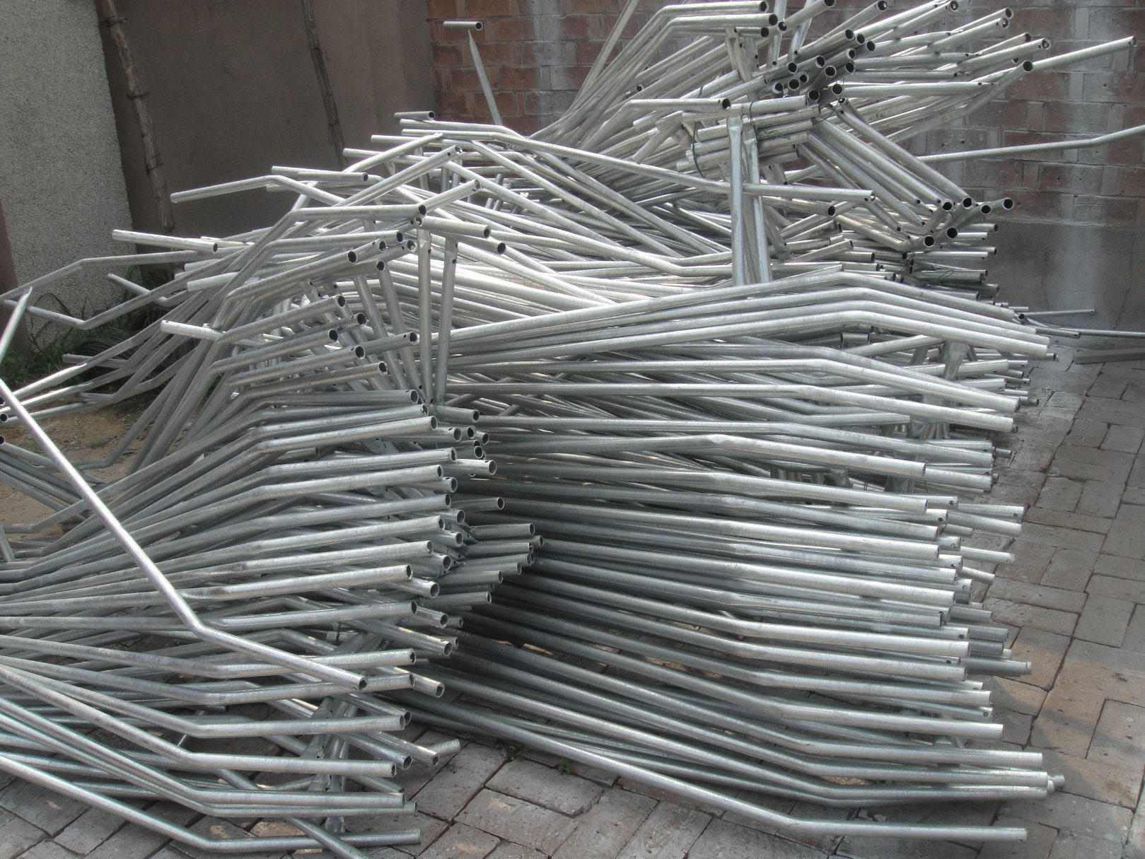Temporary Construction Fence Panels 2100mm X 2400mm Width As4687-2007