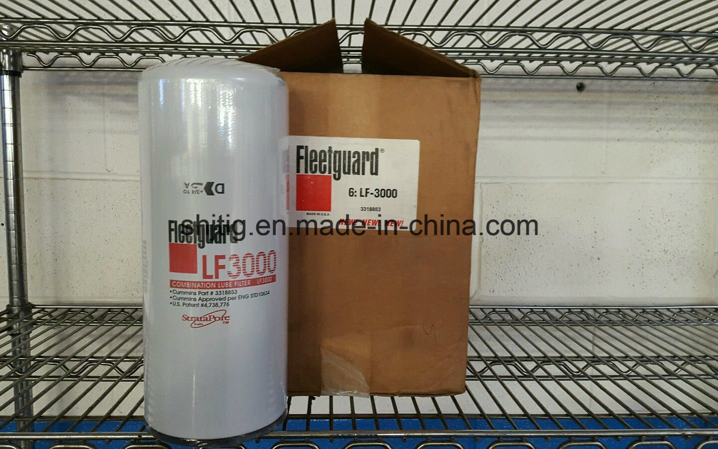 Fleetguard Oil Filter Lf3000 for Cummins Engines