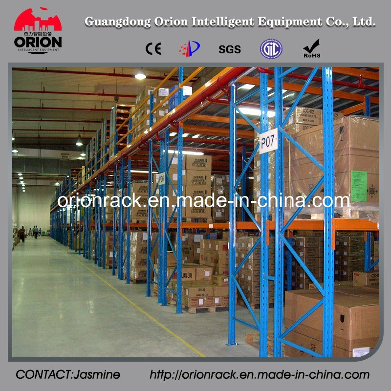 Warehouse Heavy Duty Rack with Mezzanine Floor Racking