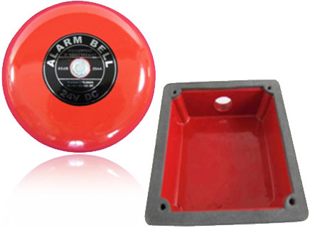 Fire Protection System Red Color Alarm Bell