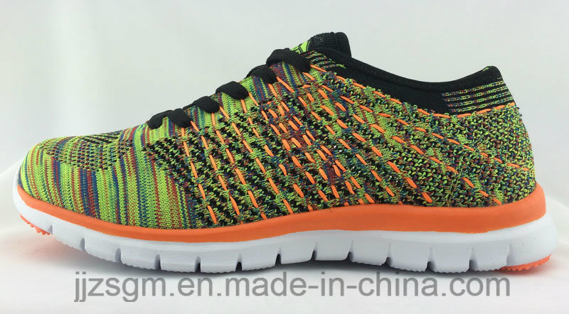Colorful Fashion Flyknit Sports Shoes