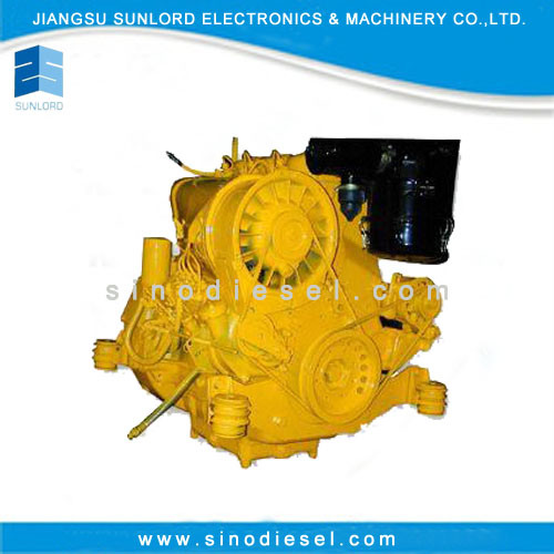 China Cheap Air Cooled 2 Cylinder Diesel Engine