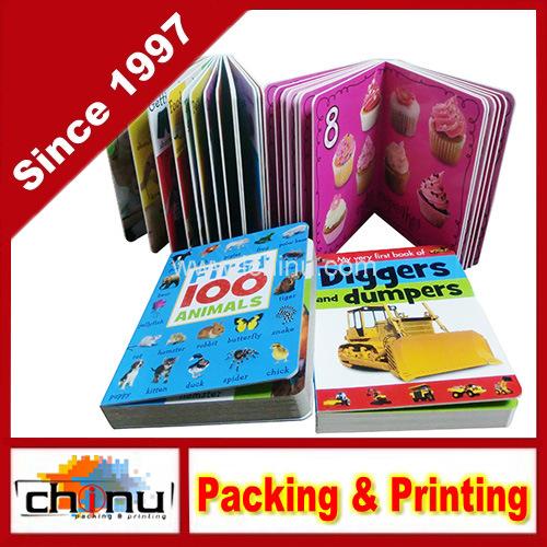 Hard Cardboard Paper Kid Story Professional Full Color Custom Printing Children Book