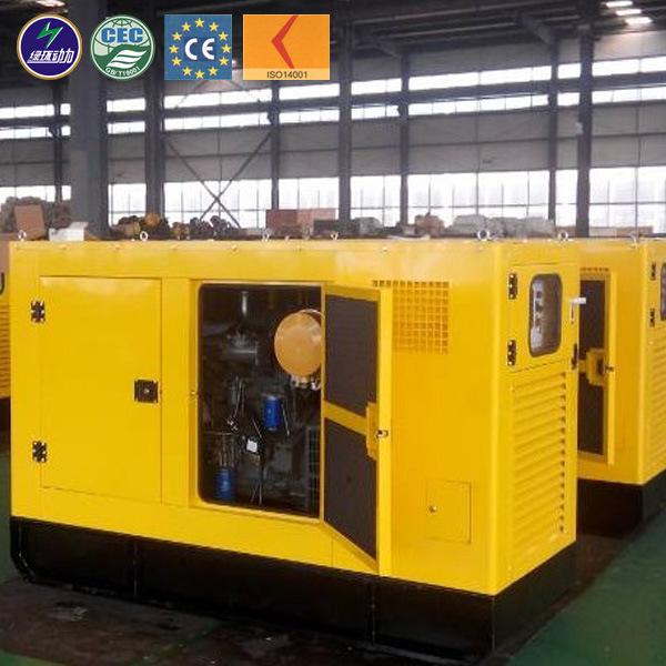 CE ISO 10kw - 500kw Wood Chip Waste Biomass Gasifier Generator