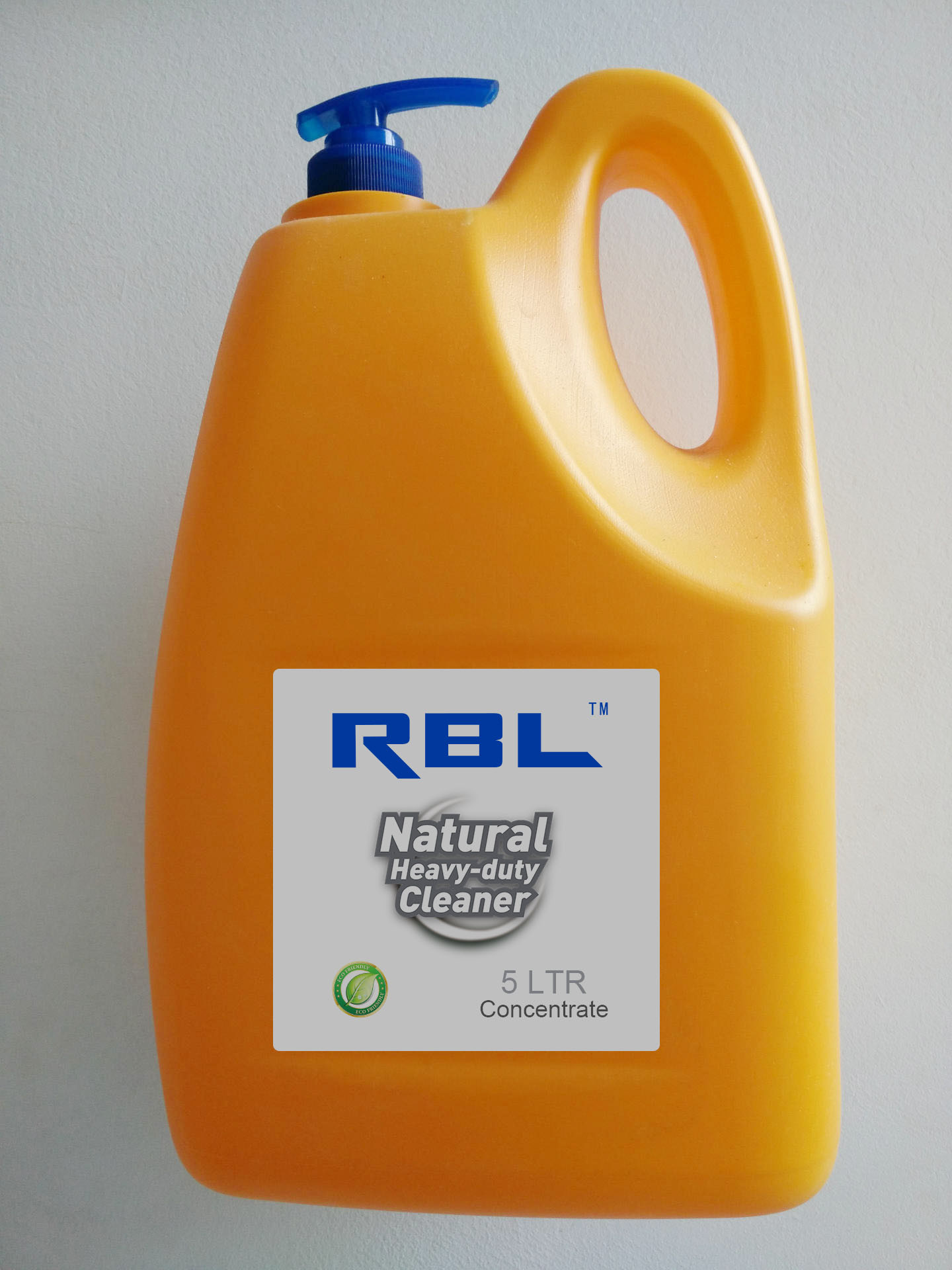 Rbl Natural Heavy-Duty Cleaner 5L Concentrated Liquid Detergent Bio-Degreaser