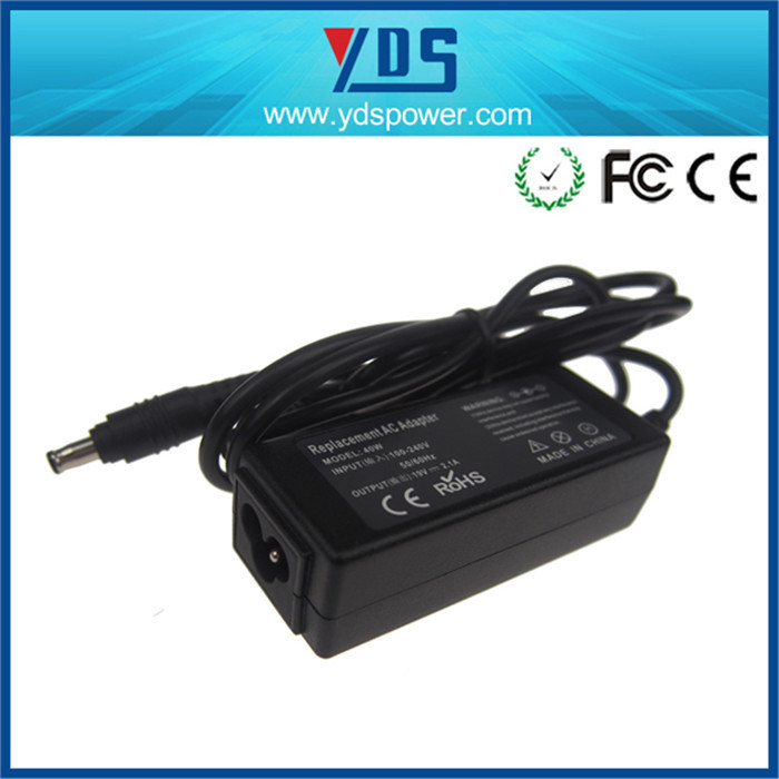19V 2.1A 5.5*3.0 mm for Samsung Laptop Power Adapter