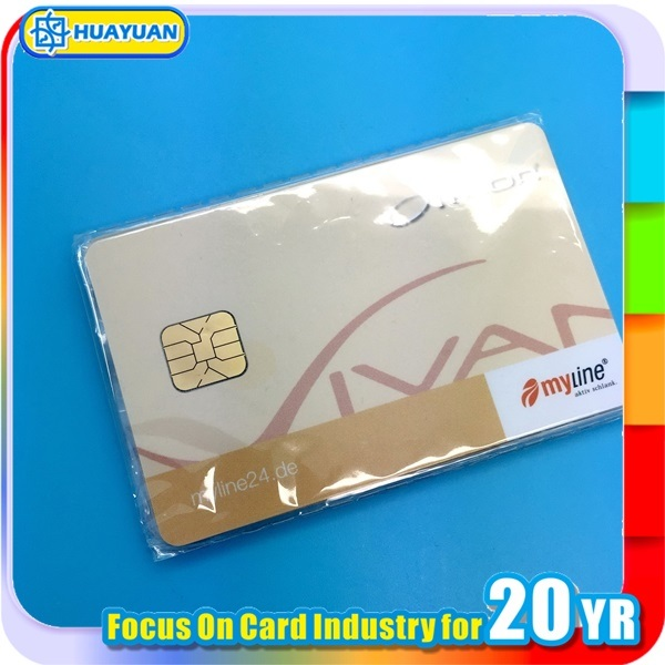 Hotel Access Control Sle5528 Contact IC Chip Card