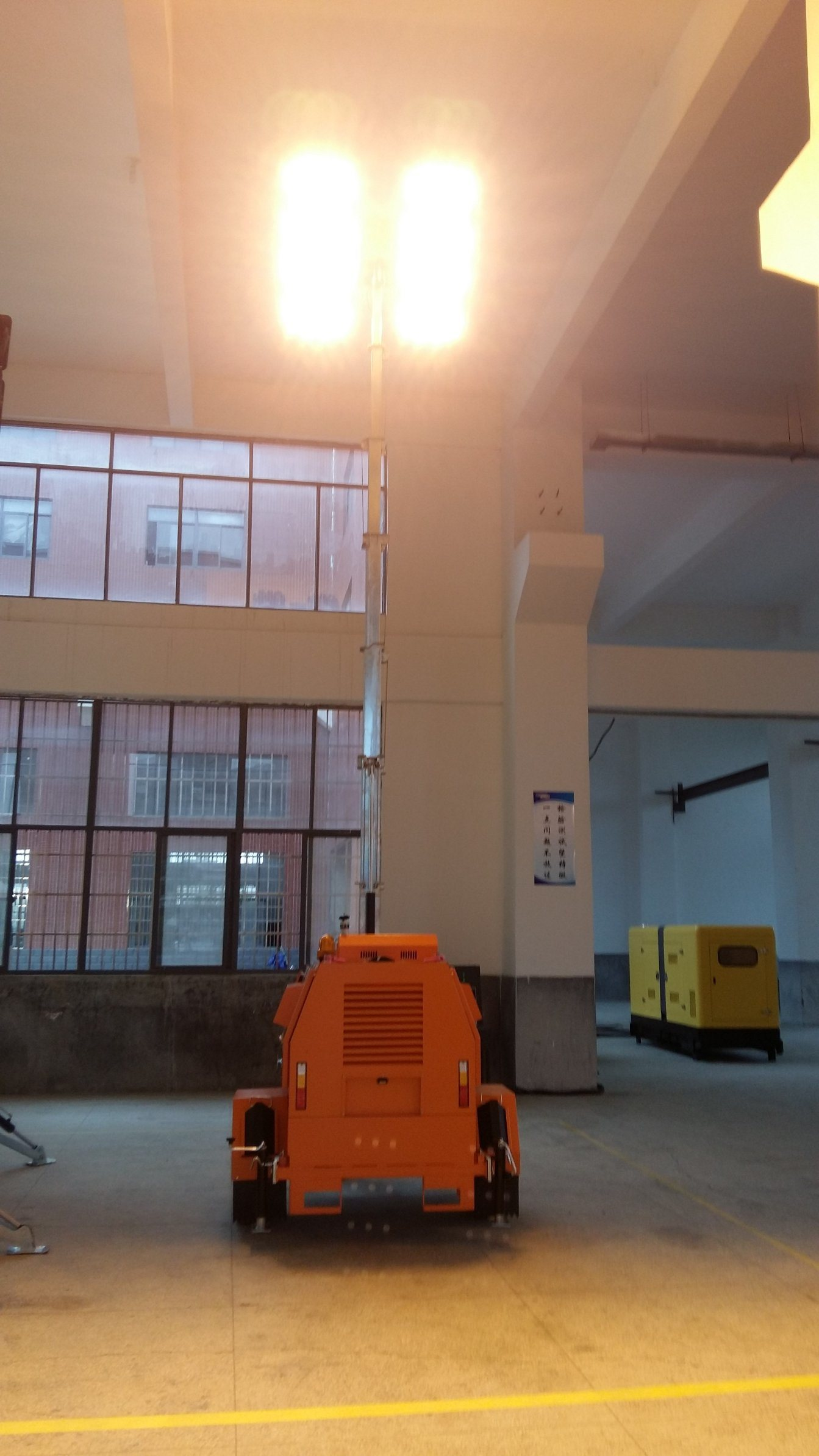 China Multifunctional System Vertical Hydraulic Telescopic Pole