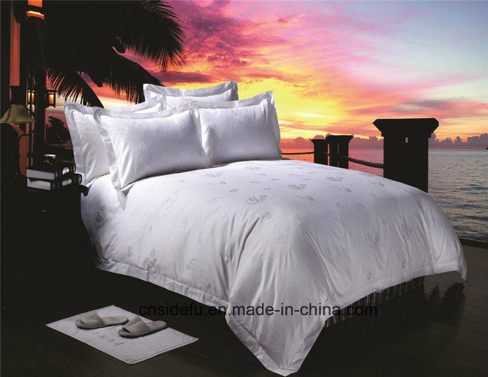 China Wholesale King Size Printed Hotel Bedding Set