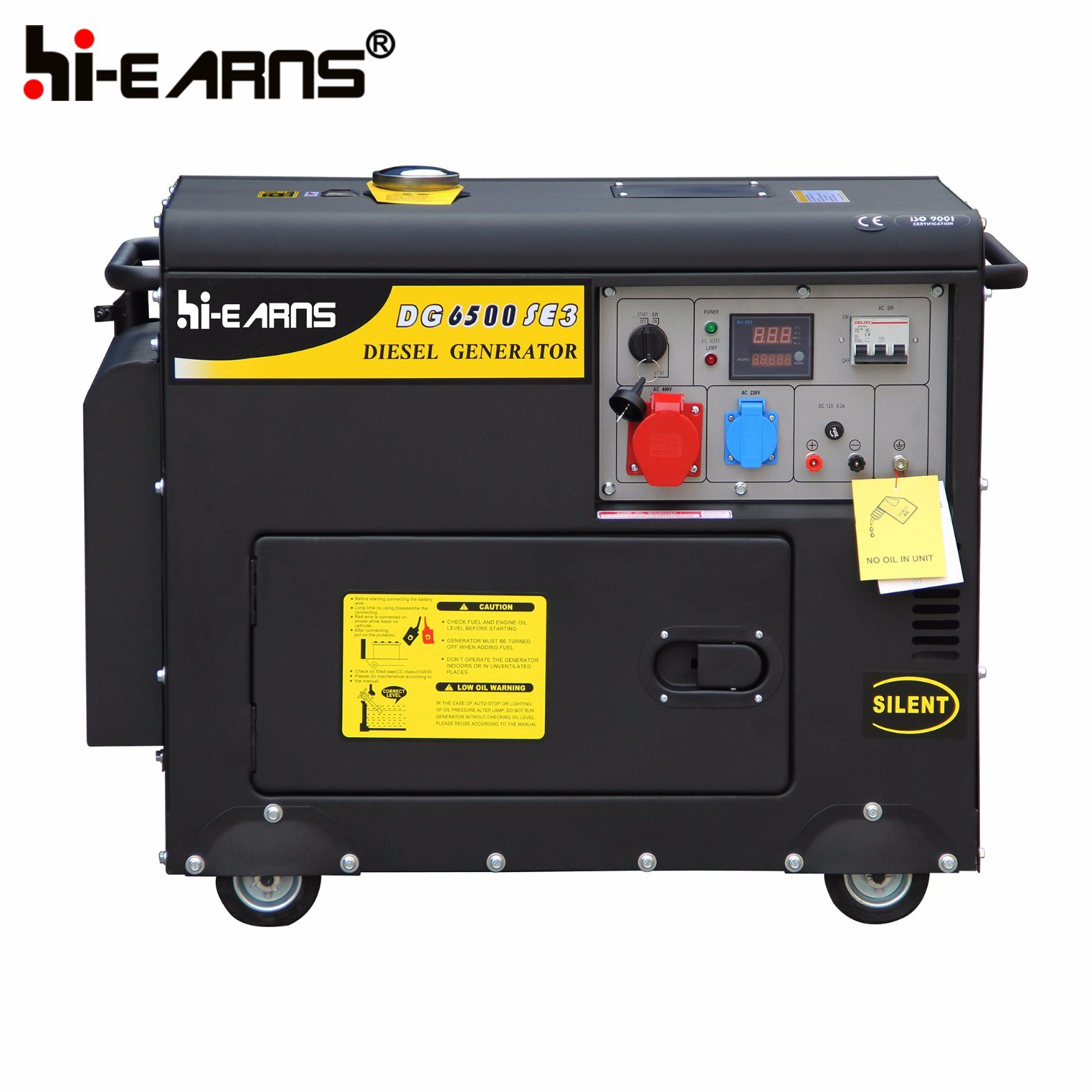 China 4kw Portable Air Cooled Silent Diesel Generator Price