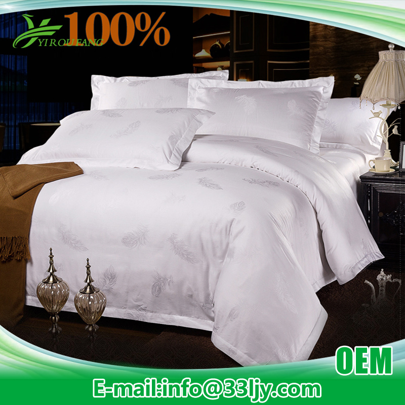 Factory Luxury Cotton Hotel Linen for Bedroom