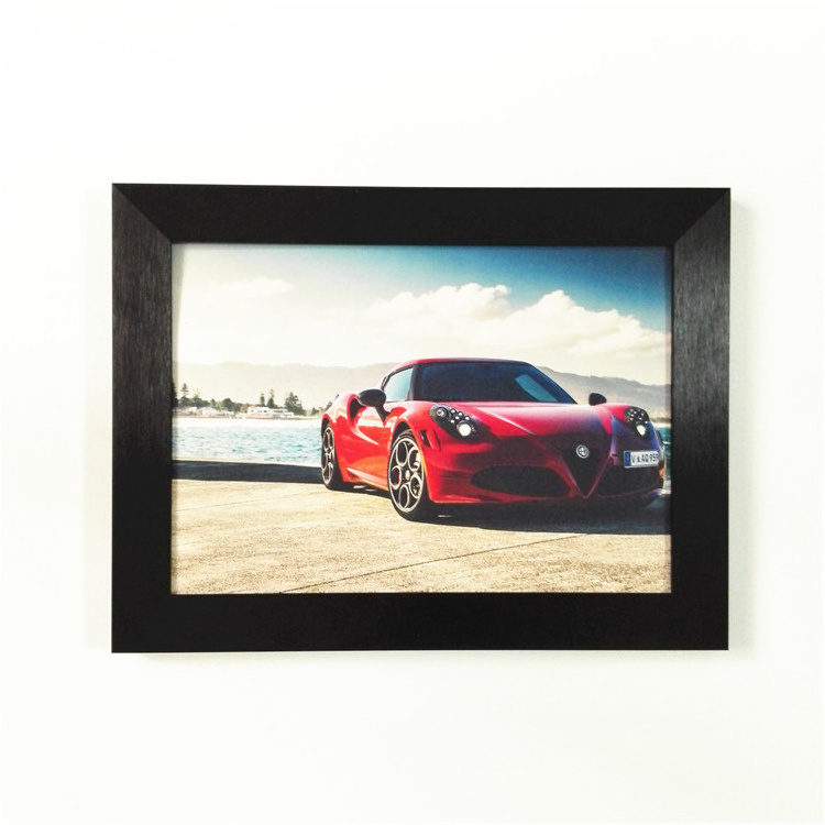 China Brushed Black Color Metal Frames for Pictures with Factory ...