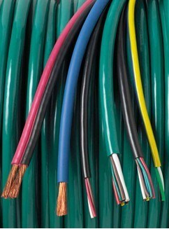 Twp Low-Voltage Basic Cables for Auto System