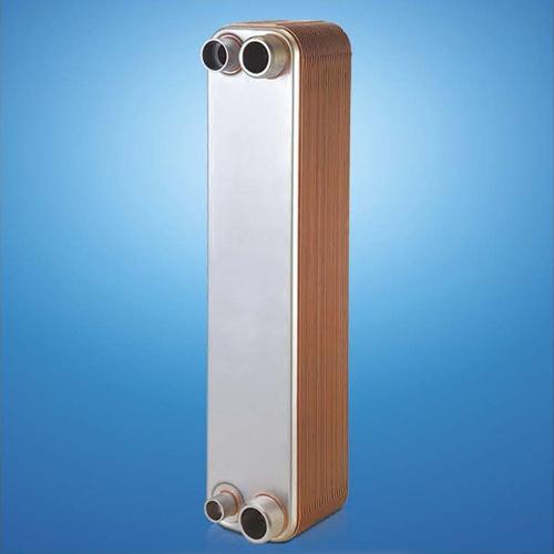 Brazed Plate Heat Exchanger with Bracket, Rings