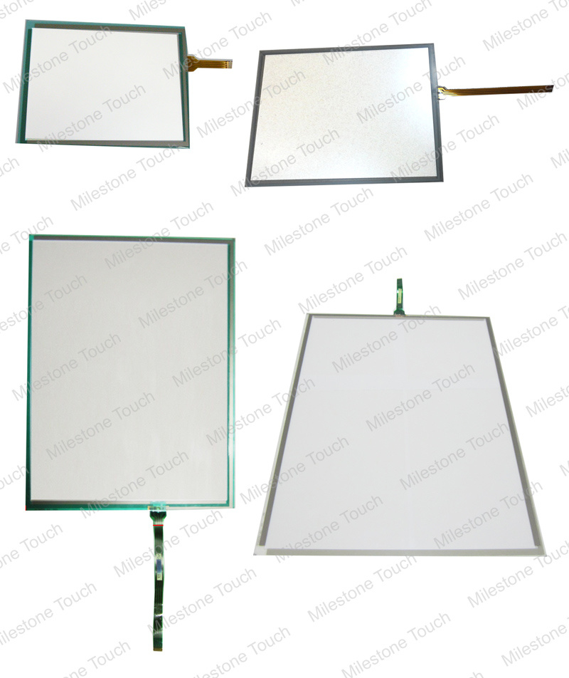 AST3501W-T1-D24 / 3580207-01 AST3301-S1-D24 / 3710010-01 AST3301-T1-D24 / 3710010-02 AST3302-B1-D24 Touch screen panel membrane glass for Pro-face