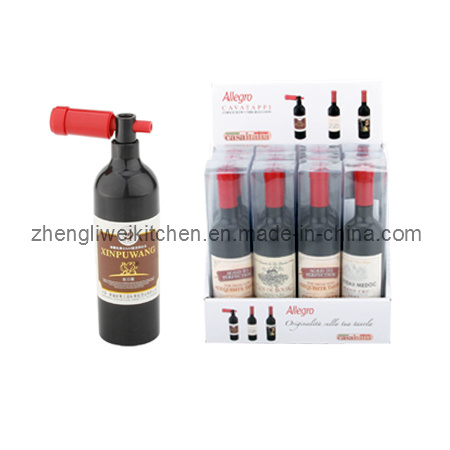 Bottle Shaped Wine Set in Display Box (600712P)