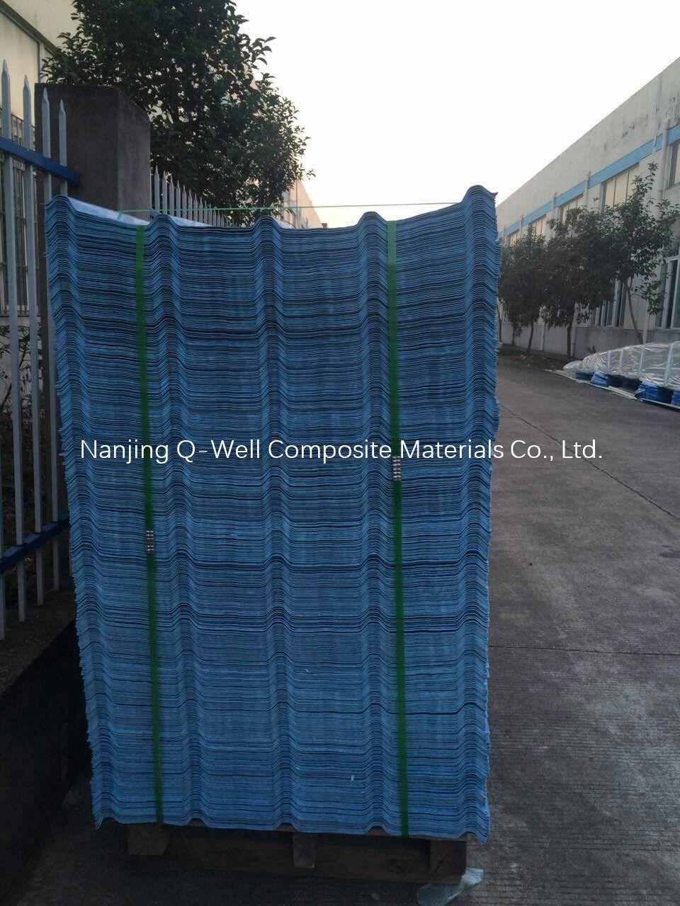 FRP Panel Corrugated Fiberglass/Fiber Glass Color Roofing Panels T172003