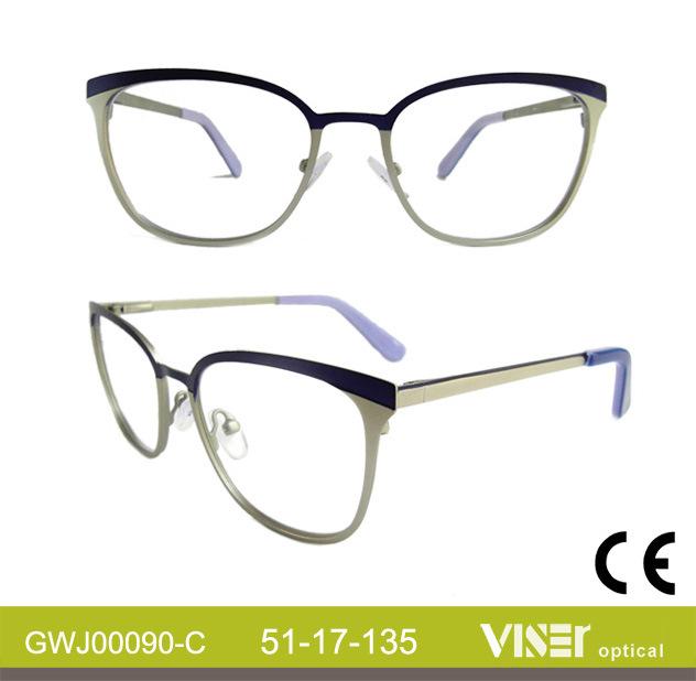Metal New Fashion Optical Frames (90-B)