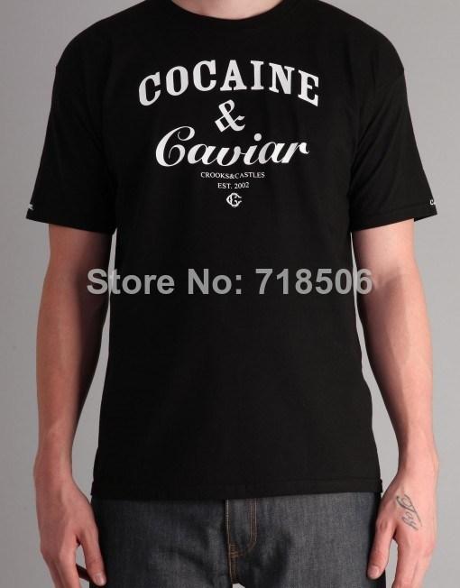 Cocain & Caviar T Shirt Black