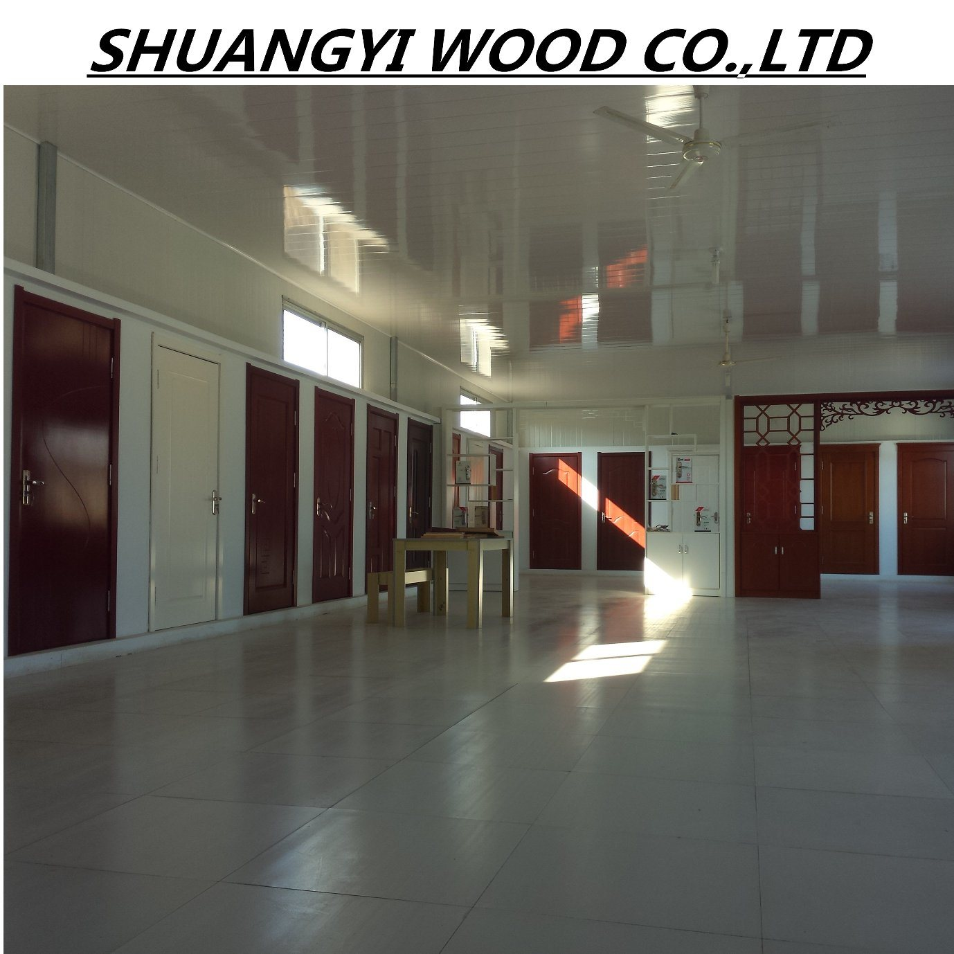 China Cheap Solid Wood Interior Door