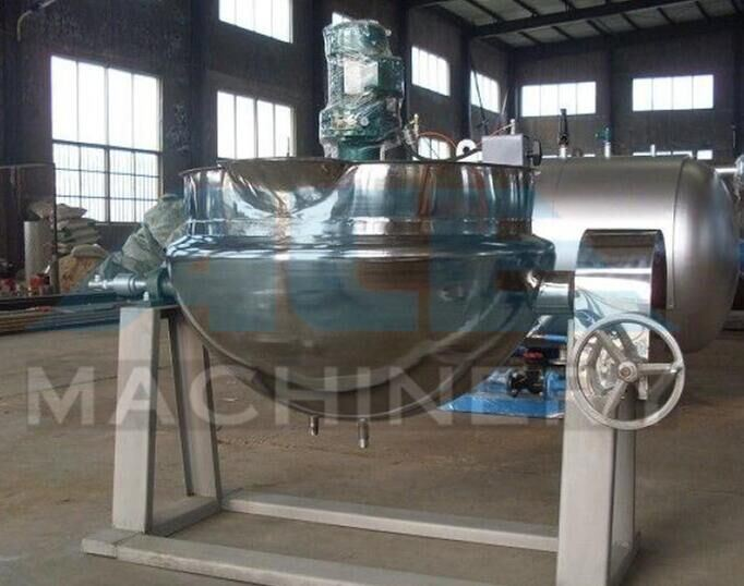 Milk Boiler Kettle Cooking Jacketed Steam Kettle Pan Pot (ACE-JCG-Y3)