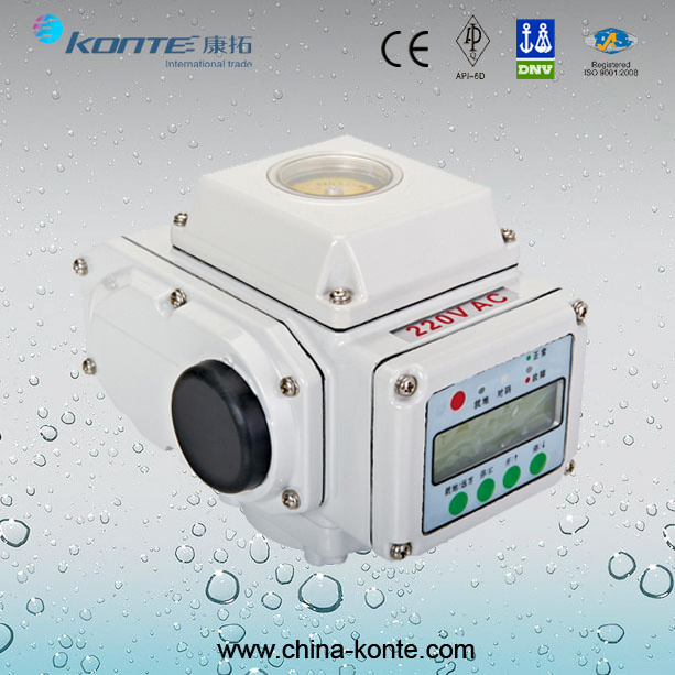 Kt-a Modulating Type Electric Actuator with LCD Display From China Manufacturer