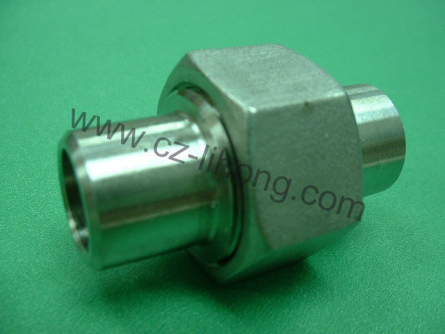 "3/4"" Stainless Steel 316 DIN2999 Union Flat F/F"