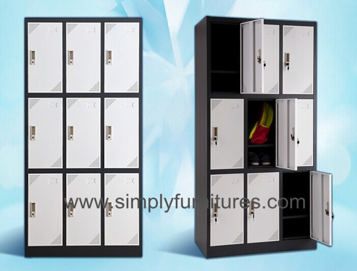 School Use Metal Storage Wardrobe