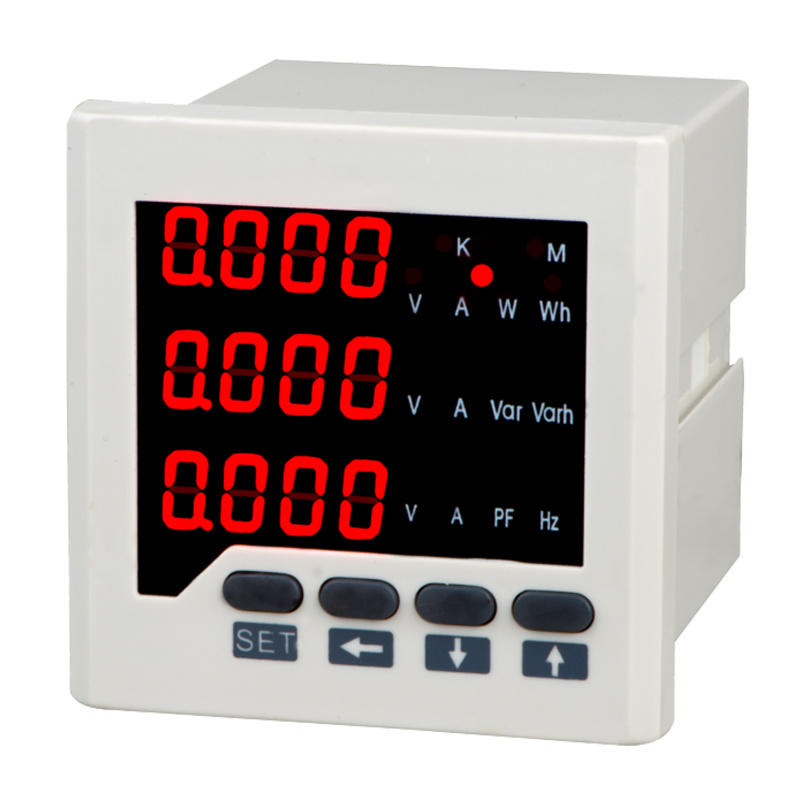 Three-Phase Network Multifunctional Power Meter (LED display)