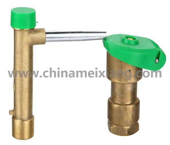 1′′ Brass Valve, Quick Coupling Irrigation Valve (MX9107)