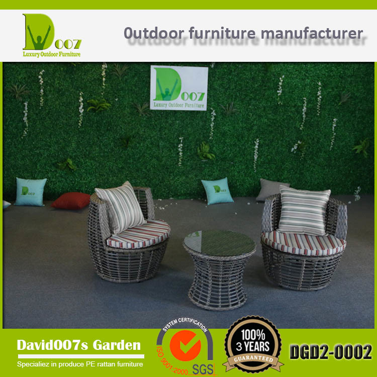 Garden Furniture PE Rattan Leisure Lounge Set
