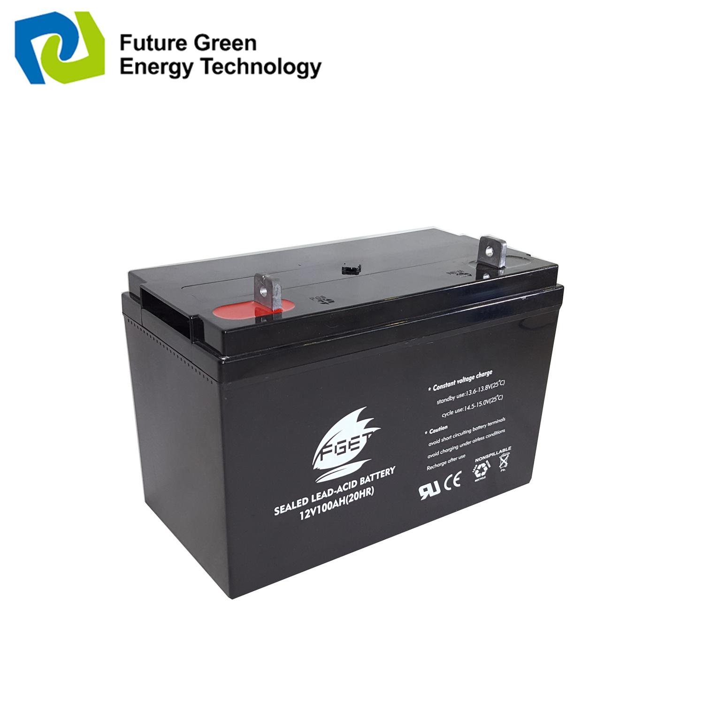 Deep Cycle VRLA Sealed Lead Acid Solar Gel UPS Storage Battery