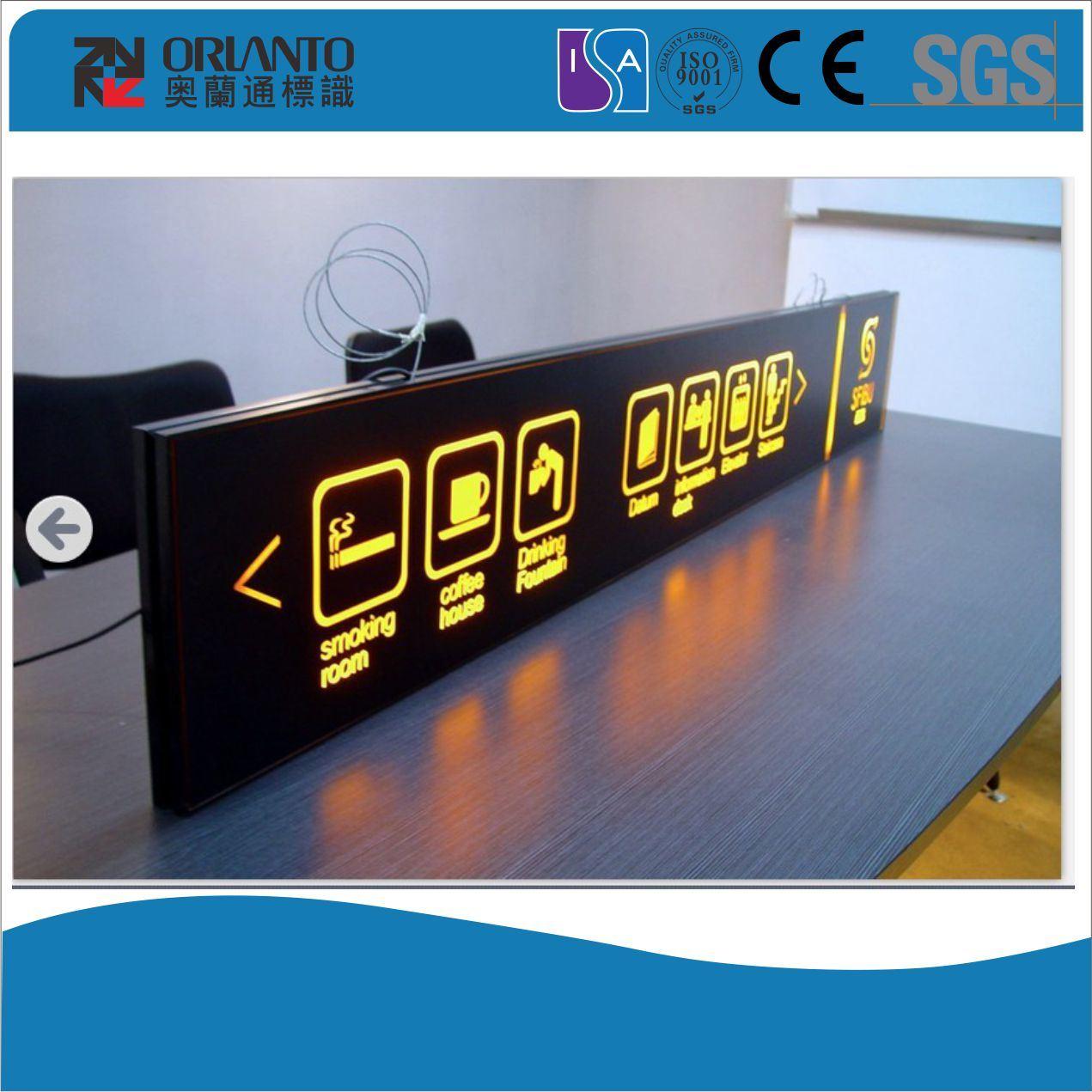 Indoor Guide Panel Slim Light Box
