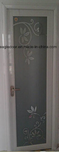 Real Photo White Aluminum Bathroom Door (EA-1005)