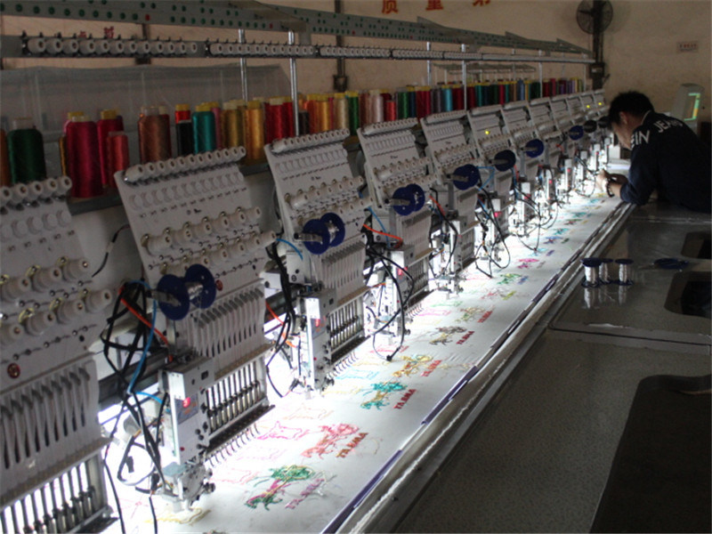 Computerized Coiling/Cord Embroidery Machine