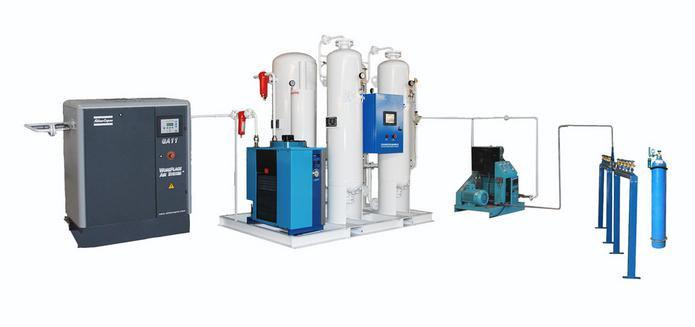 Psa Medical, Hospital/Industrial Oxygen Generator for Cylinder Filling