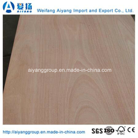 Custom Size Okoume Plywood for Furniture and Decoration