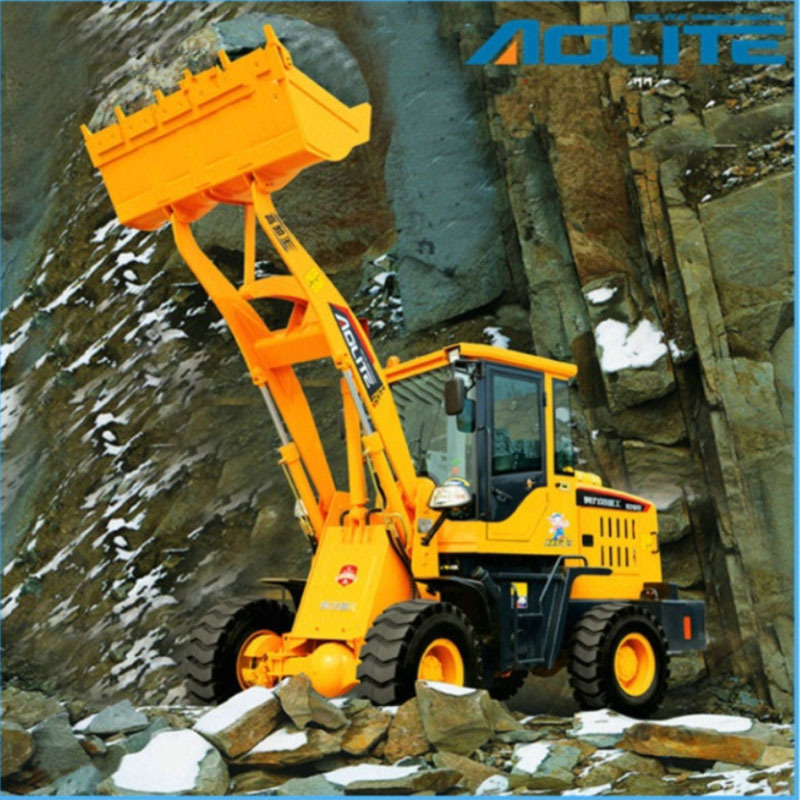 Ce Approval Wheel Loader with Bucket 1t 920 Mini Loader