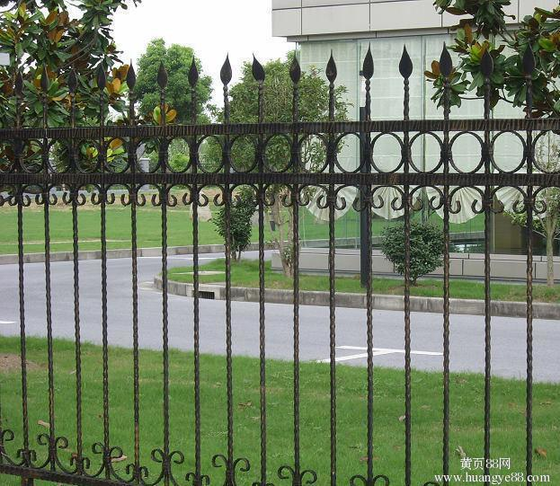 Garden Fencing Security Wrought Iron Fence