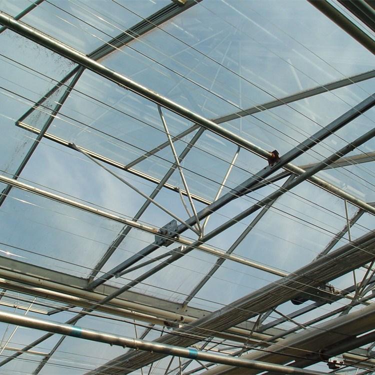 Venlo Glass Greenhouse Fv96g40